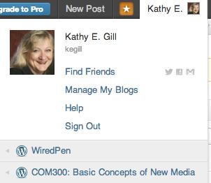 wordpress bloglist