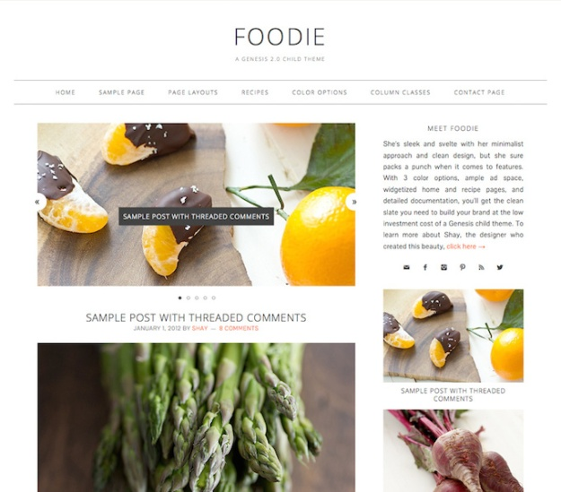 foodie-child-theme-for-genesis-review